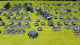 12,750-point Space Marine army (close-up)